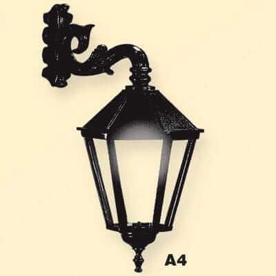 Lampa wisząca, uliczna Retro